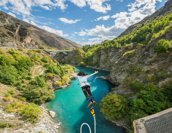 Stories from our backyard: AJ Hackett Bungy New Zealand