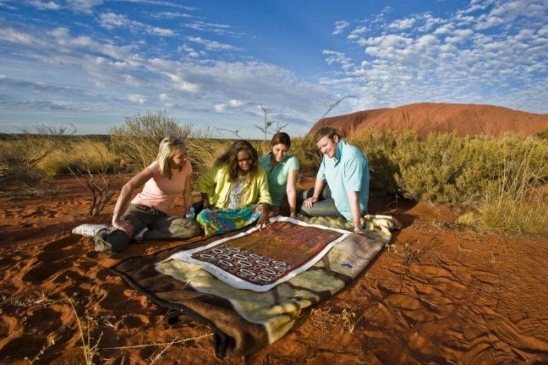 vacation to Uluru