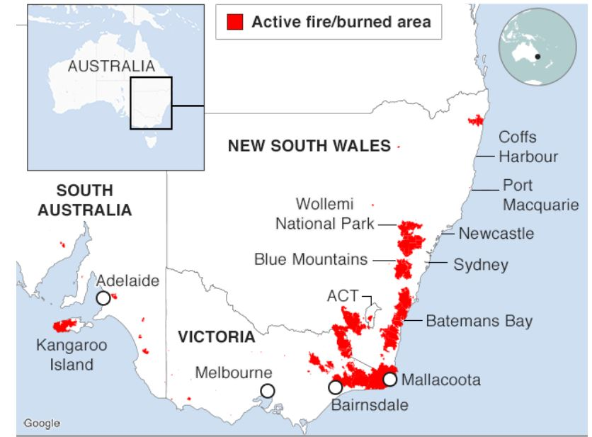 Australia's Bushfire recovery